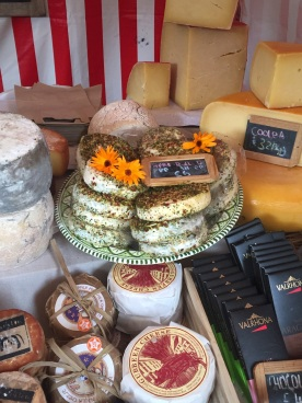 Cheeses galore