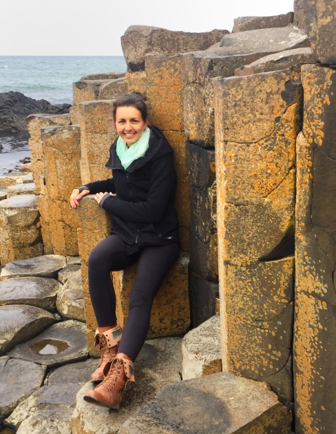 Columns throughout Giant's Causeway