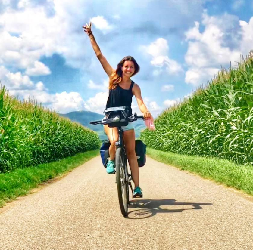 Solo Biking through Alsace, France