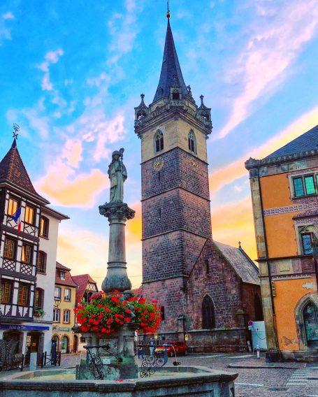 Colmar's center square