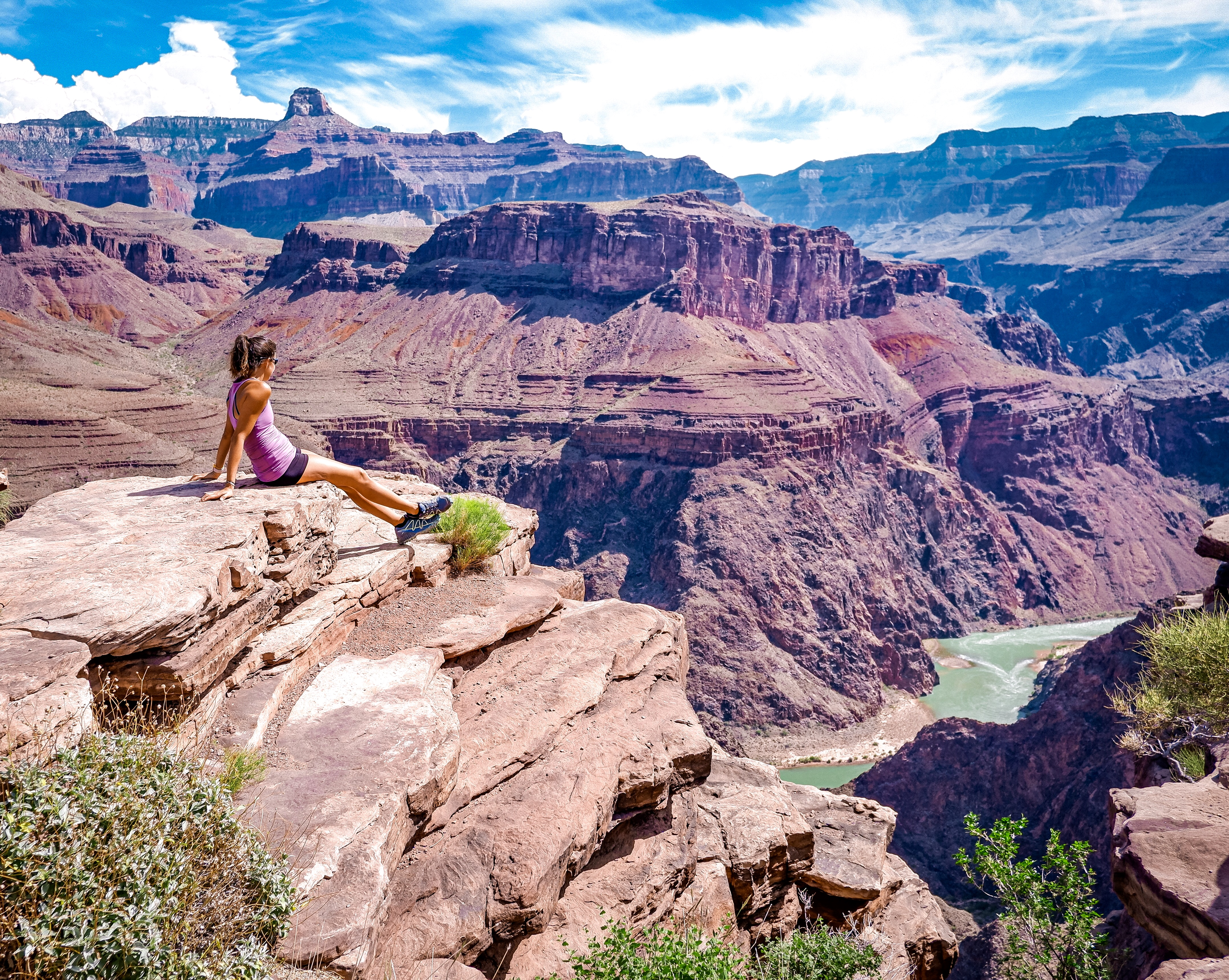 Plateau Point and Colorado River