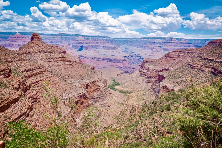 View of Bright Angel Trail